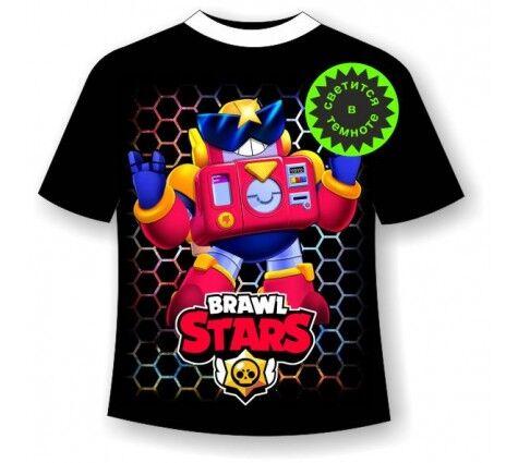 Подростковая футболка Brawl stars Вольт 1138