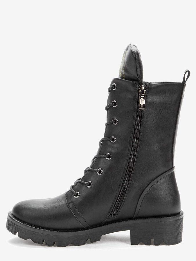 808259/03-01 черный иск.кожа женские ботинки