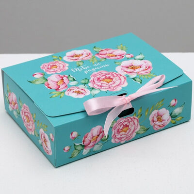 Коробка складная 16х12х5см