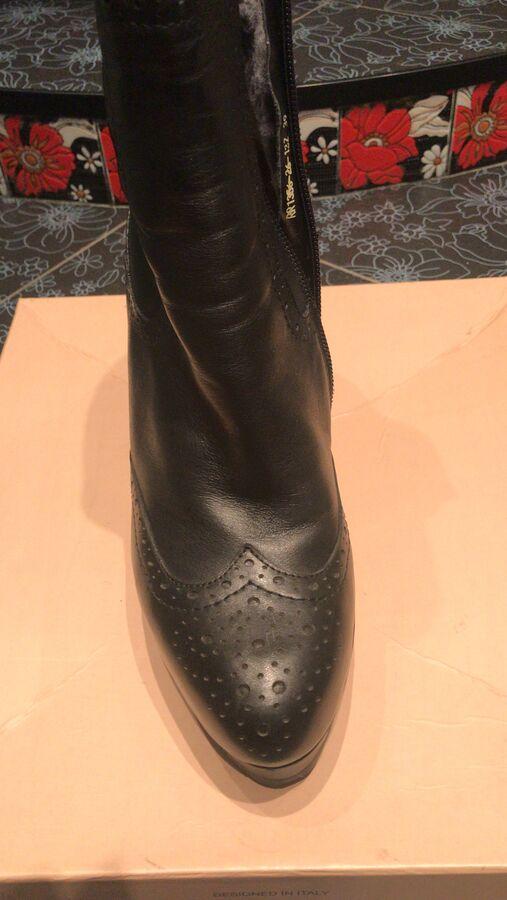 Зимние ботинки из закупки Эконика во Владивостоке