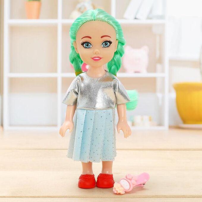 Куколка Lollipop doll с заколкой , МИКС, в пакете