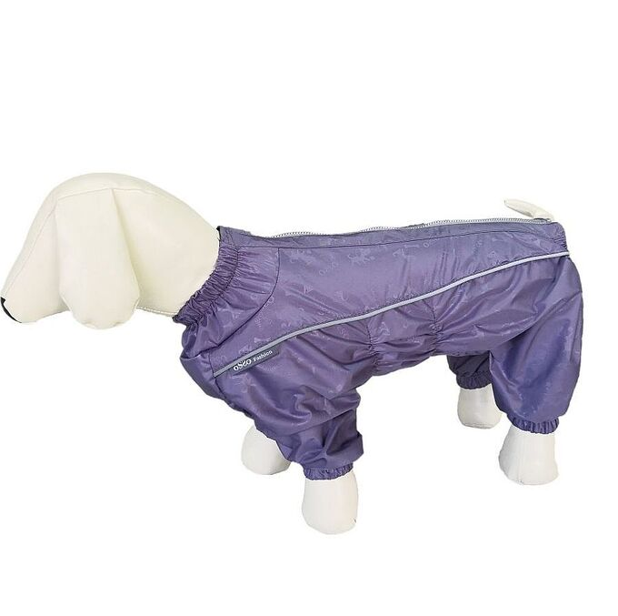 Комбинезон для собак OSSO Fashion, р.32-2 (кобель) лаванда