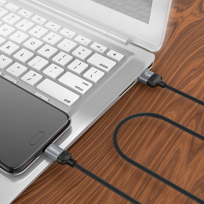 USB Кабель Borofone Charging Type-C / 3A
