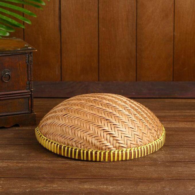 "Корзинка бамбук ""Бандунг"" 25х25х8 см"