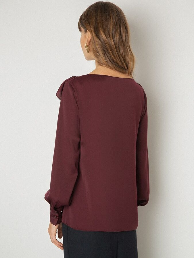 Однотонная блузка B2554/sonny