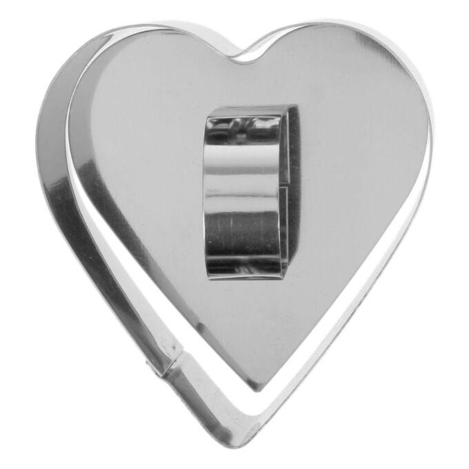 """Форма для выпечки """"Сердце"""" / 8 x 4 см"""