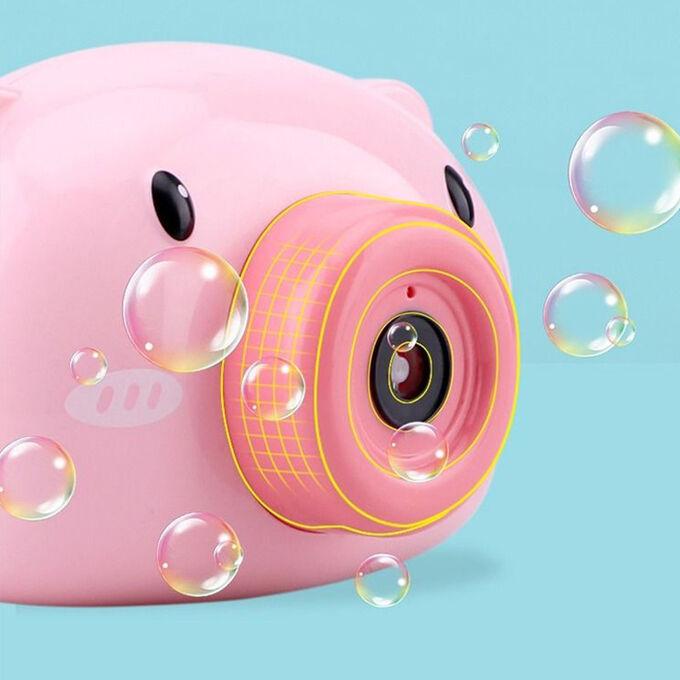 Аппарат для создания мыльных пузырей Bubble Camera