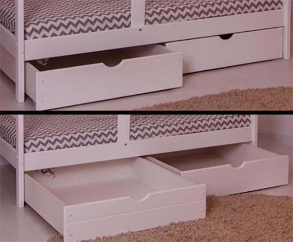 Ящик для домика 180*90 белый