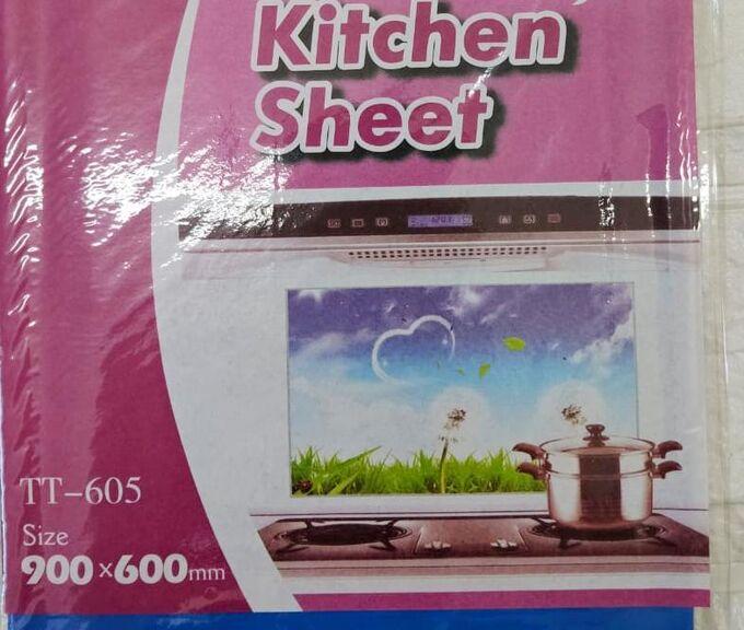 Термостойкая наклейка для кухни 75*45