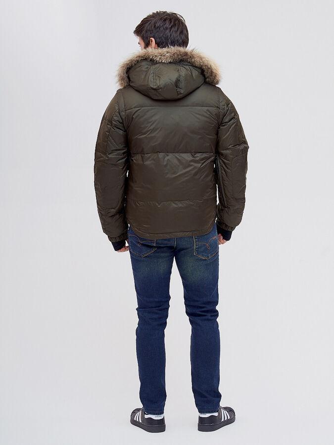 Куртка и безрукавка Valianly цвета хаки 2064Kh