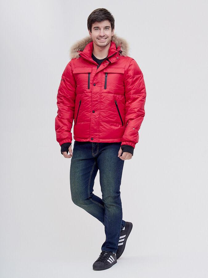 Куртка и безрукавка Valianly красного цвета 2064Kr