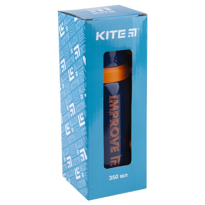 Термос Kite Improve K20-301-04, 350 мл, синий