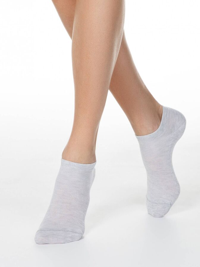 """Носки женские укороченные """"сетка"""""""