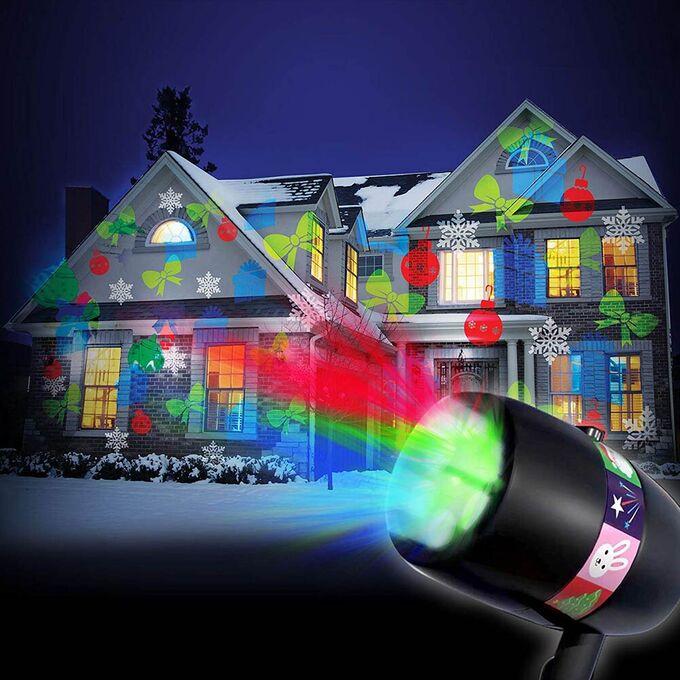 Лазерный проектор слайдов Full Color Holiday Slides