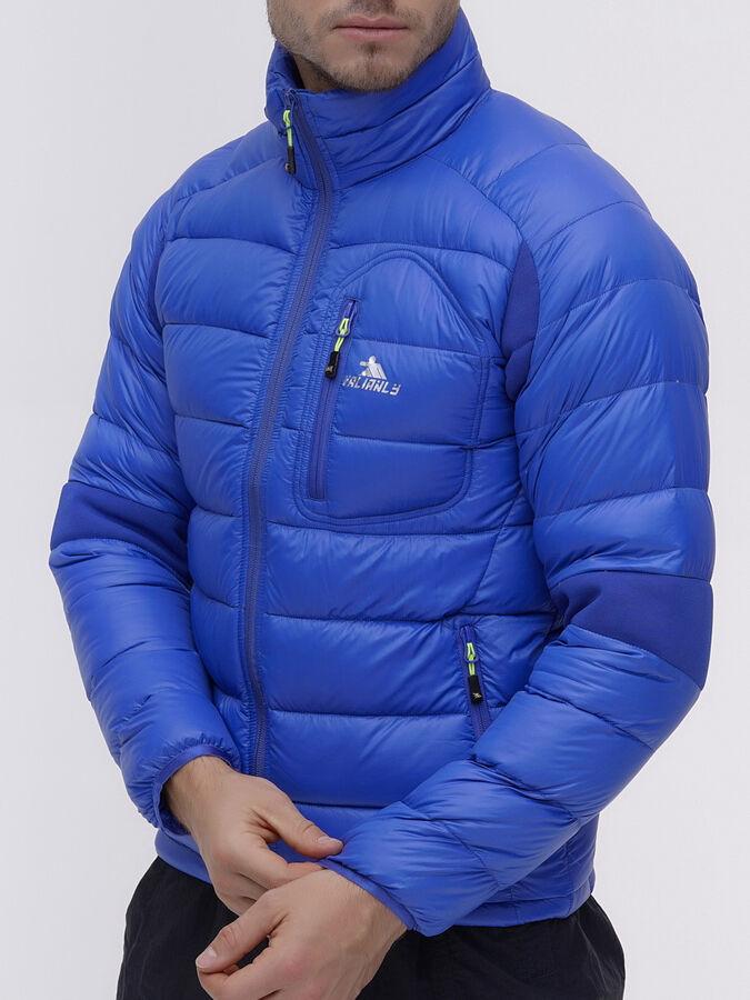 Пуховик еврозима Valianly синего цвета 92102S