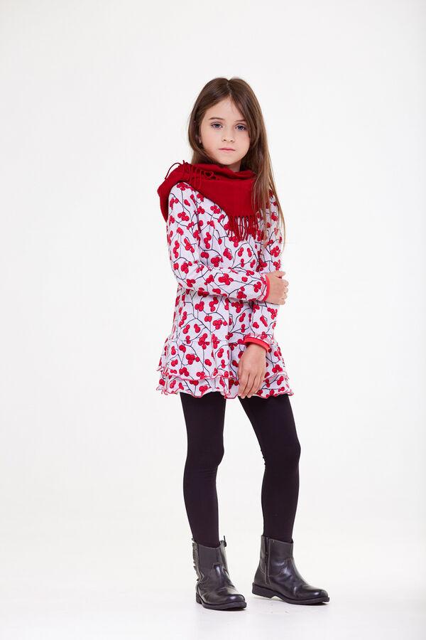 Комплект для девочек (туника, леггинсы)