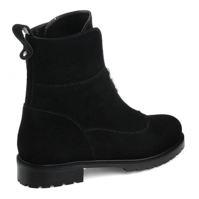 Женские ботинки. Модель 3227 н замша (зима)