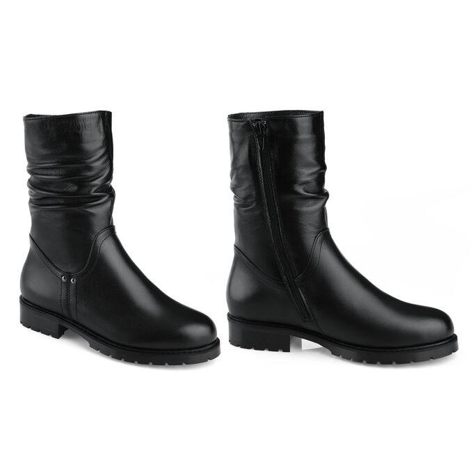 Зимние ботинки на низком каблуке. Модель 3236 н (зима) в Хабаровске