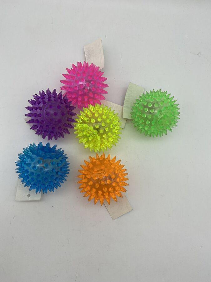 Мяч световой попрыгунчик шипы