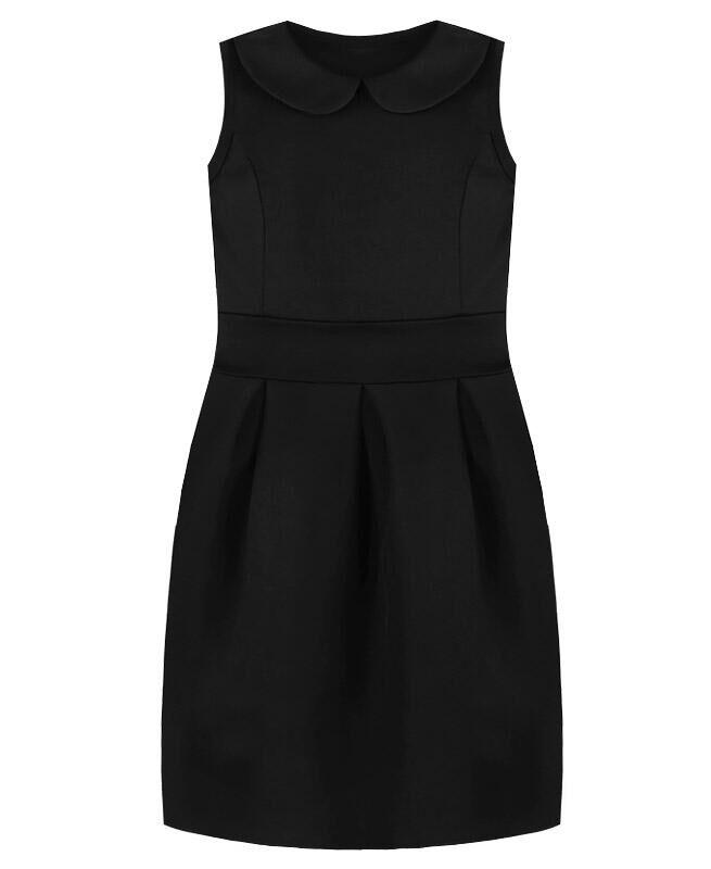 Чёрный сарафан для девочки Цвет: черный