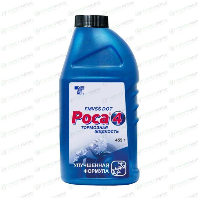 Жидкость тормозная Т-Синтез Роса 4, DOT 3, 455г