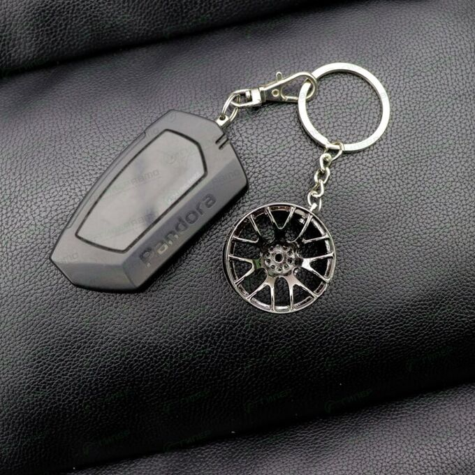 Брелок на ключи серии «Деталь автомобиля» (литье хром)