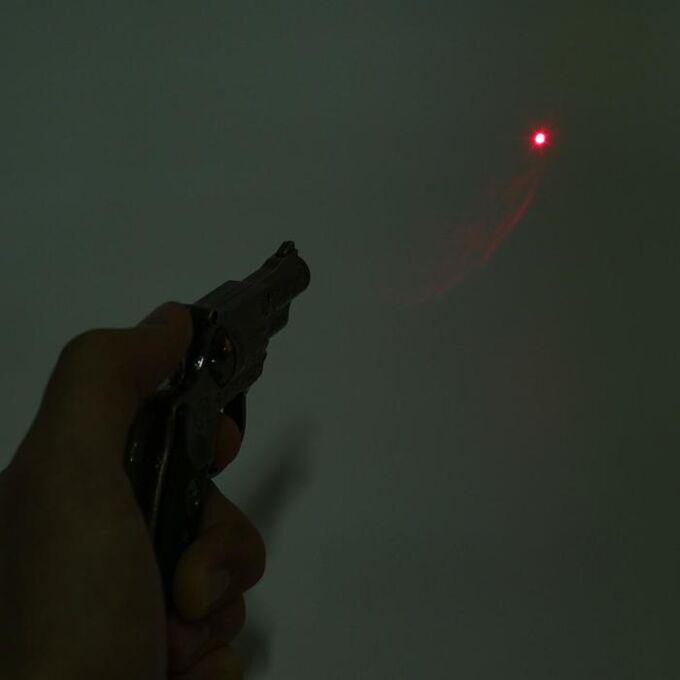 """Зажигалка """"Револьвер"""", пьезо, газ, микс"""