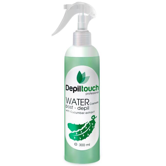 Вода косметическая с экстрактом огурца Depiltouch 300 мл