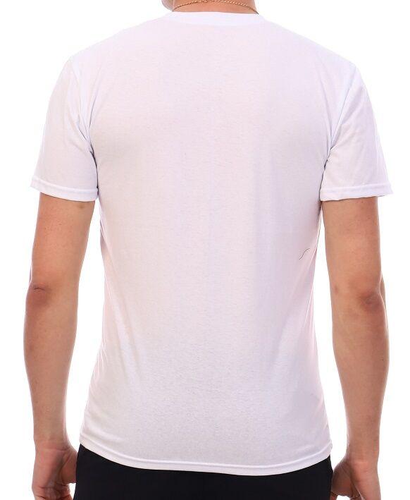 Футболка Количество в упаковке: 1; Артикул: ДТЖ-Ф-1/1; Цвет: Белый; Ткань: Кулирка; Состав: 100% Хлопок; Цвет: Белый Скачать таблицу размеров                                                 Футболка