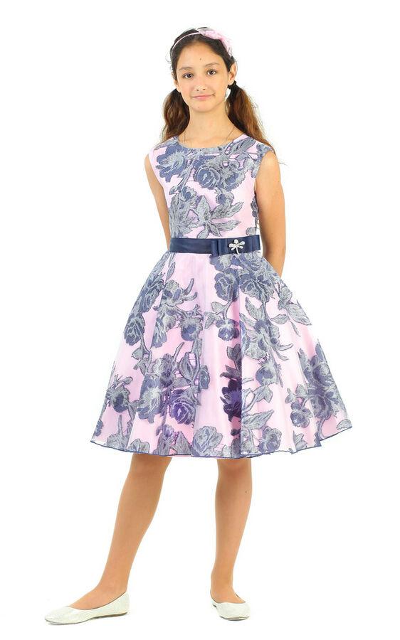 Платье Количество в упаковке: 1; Артикул: СС-1637; Цвет: Розовый; Ткань: Полиэстер; Состав: 100% полиэстер; Цвет: Розовый Скачать таблицу размеров                                                 Наря