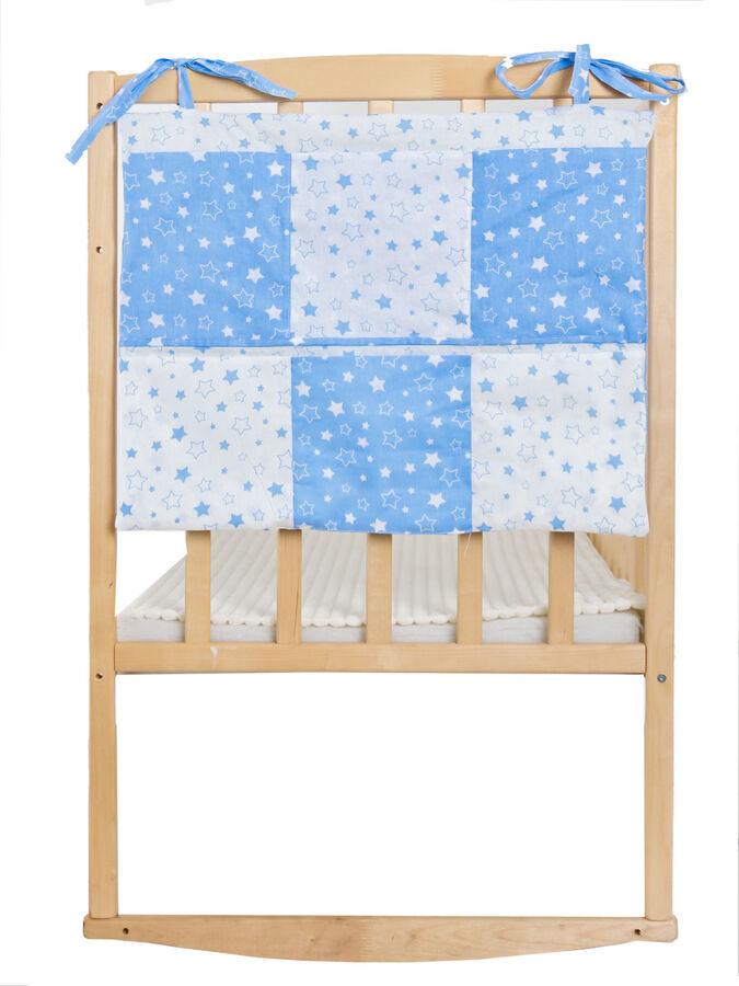 "Карман на детскую кроватку ""Звездное небо"""