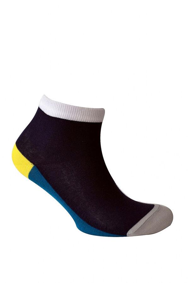 Носки Количество в упаковке: 1; Артикул: ГМ-С893; Ткань: Хлопок; Состав: 76%хлопок,26% ПА, 7% эластан.; Цвет: Разноцветный Скачать таблицу размеров                                                 уко
