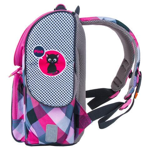 """Ранец TIGER FAMILY, для начальной школы, Nature Quest, """"Think Pink"""", Европейский, 35х31х19 см, 227861, TGNQ-053A"""