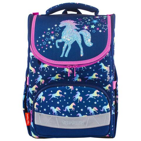 """Ранец TIGER FAMILY для начальной школы, Earnest, """"Rainbow Horse"""", 39х31х23 см, 228916, TGET-016A"""