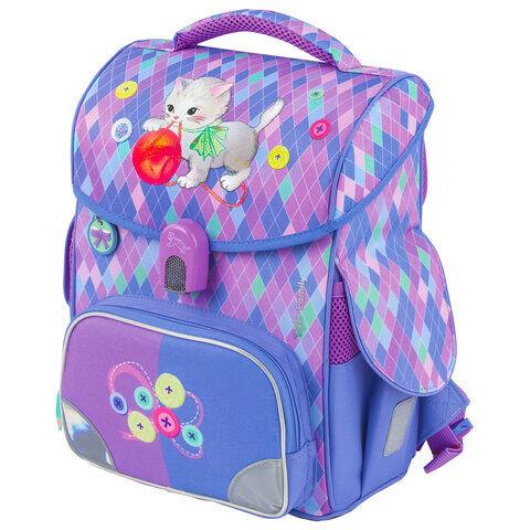 """Ранец TIGER FAMILY для начальной школы, """"Jolly"""", """"Playful Kitten"""", 36х31х19 см, 228907, TGJL-027A"""