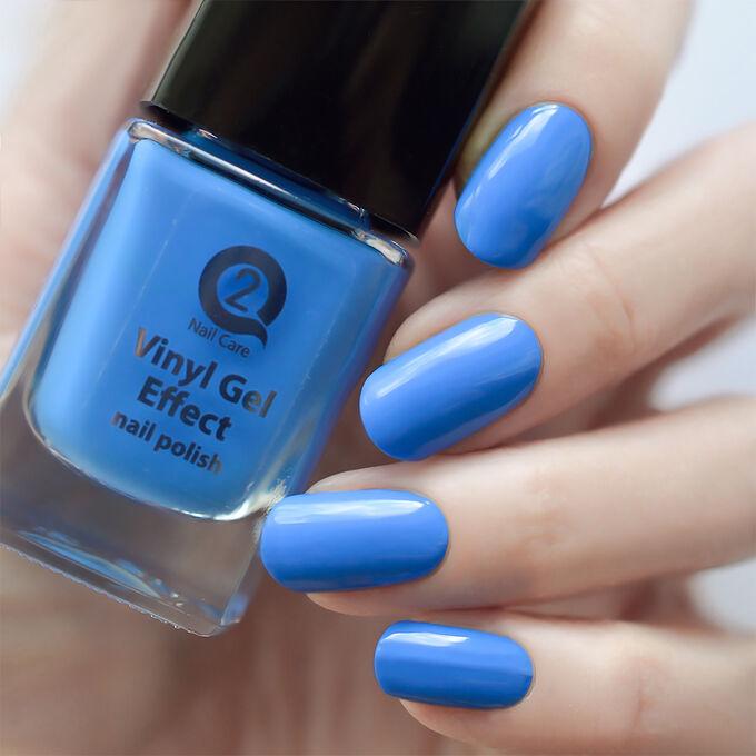Лак  д/ногтей Vinyl Gel Effect №23 голубой 12мл