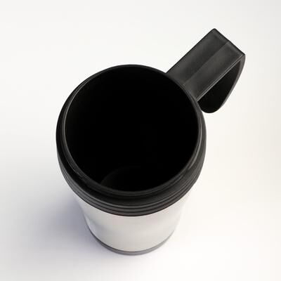 "Термокружка ""Шелан"", 450 мл, сохраняет тепло 2 ч, хромированная, 11х17 см"