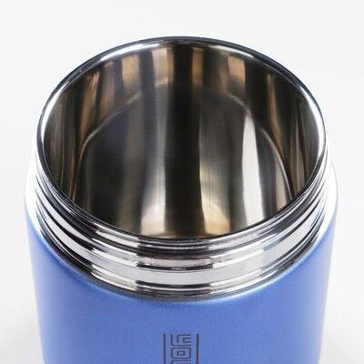 """Термос для еды """"Практик"""", 1.5 л, 2 тарелки, ложка, сохраняет тепло 12 ч, 21х13 см, микс"""