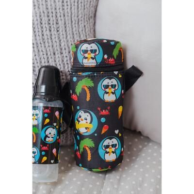 "Термосумка для бутылочки ""TRAND. Пингвин"", форма тубус"