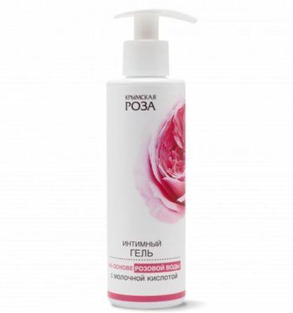 Интимный гель на основе розовой воды с молочной кислотой