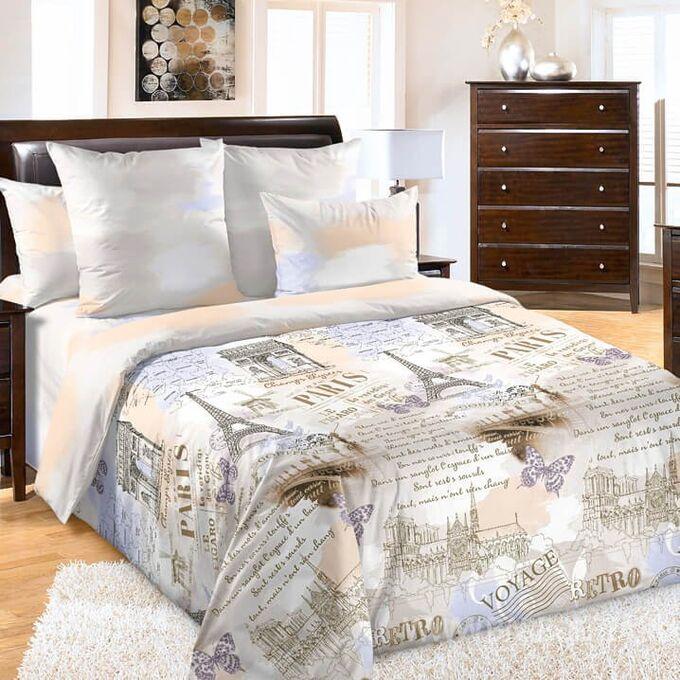 КПБ - Перкаль 2 спальный с европростыней