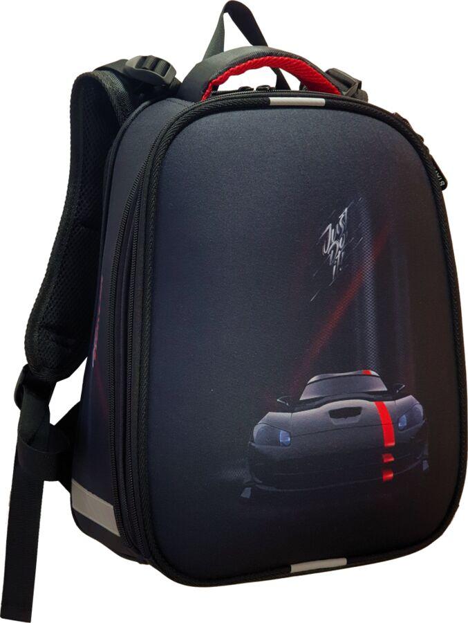 Ранец формованный «Черная машина»