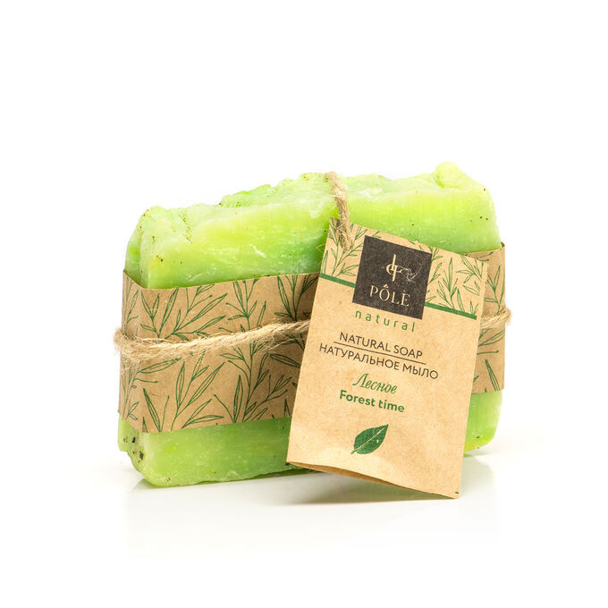 Мыло органическое POLE Forest time (100 гр.)