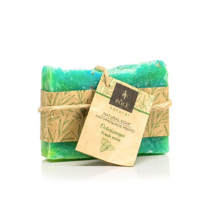 Мыло органическое POLE Fresh mint (100 гр.)