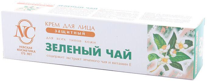Крем д/лица защитный Зеленый Чай д/всех типов кожи 40мл