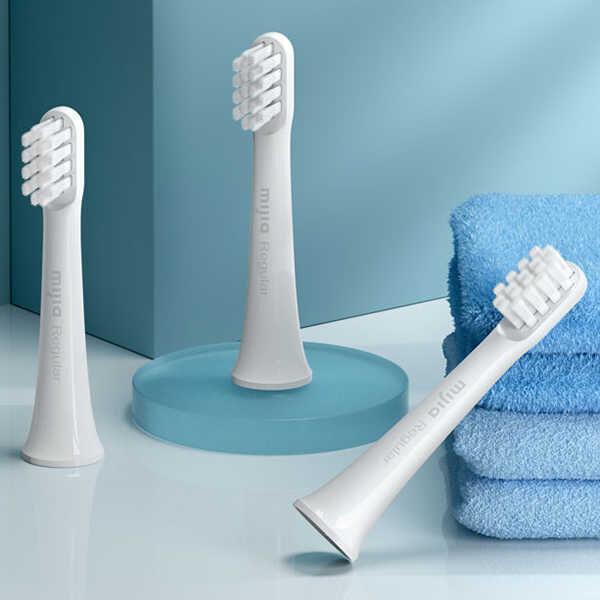 Сменные насадки для зубной щетки Xiaomi Mijia Electric Toothbrush T100 / 3 шт.