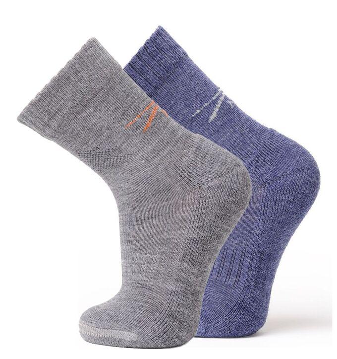 Носки Climat Control  отводят влагу, сохраняют температуру тела,  осень-зима-весна. Цвет джинс