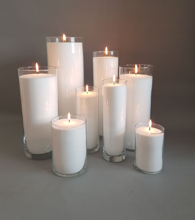 Воск для насыпных свечей молоко 1 кг