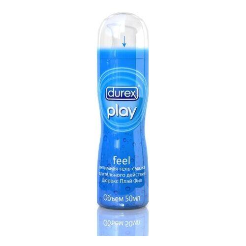 Дюрекс  Play Feel (классическая длительного действия) интимная смазка 50мл.