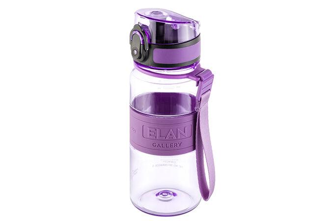 "Бутылка для воды 350 мл 6,5*6,5*18 см ""Water Balance"" аметист"